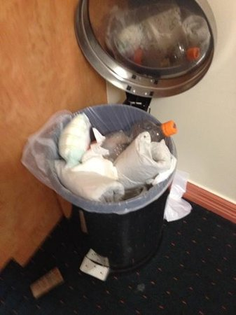 City Oasis Inn: bin was full on arrival - including nappy