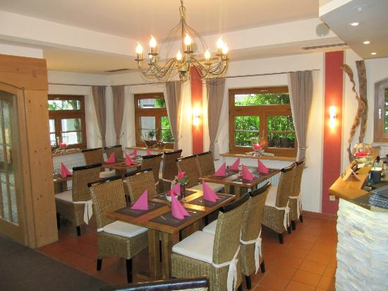 Rieger´s Restaurant: Lokal innen