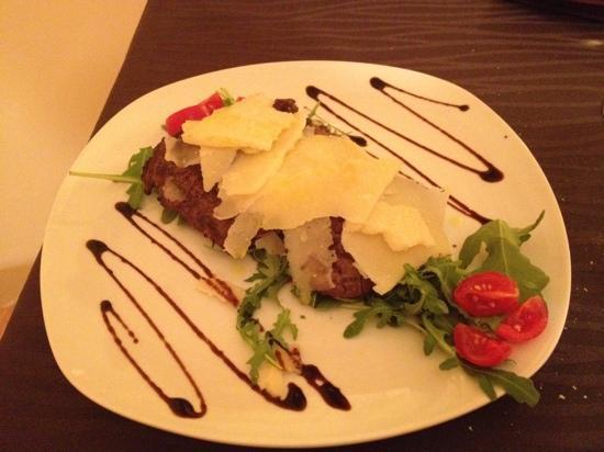 Mediterraneo Restaurant: tagliata di angus argentino