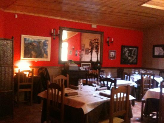 Rincón de Medinaceli: comedor principal