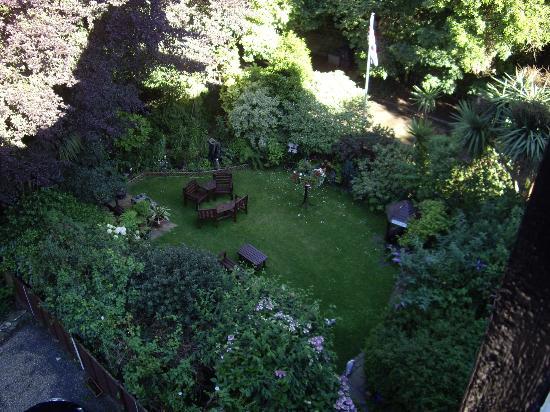 Wentworth House : Vista dalla camera