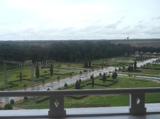 Royal Orchid Brindavan Garden Palace & Spa: View from the Balcony