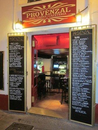 Restaurant Provenzal : Nuestra entrada