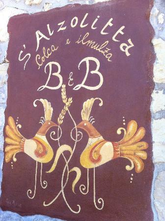 Bed & Breakfast S'Alzolitta: Ingresso