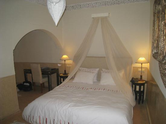 Riad Charai: chambre
