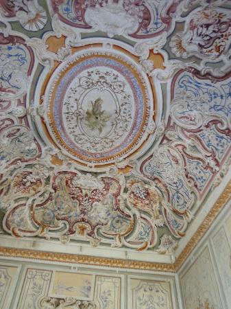 Villa Signorini Events & Hotel: Il soffitto della sala eventi
