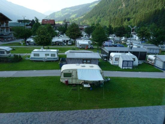 Apart Hotel garni Therese: Sight at the camping 2