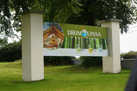 Dromquinna Manor: Entrance