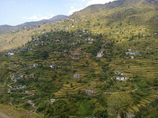 Pauri, Indie: This Is my village (Buransi)