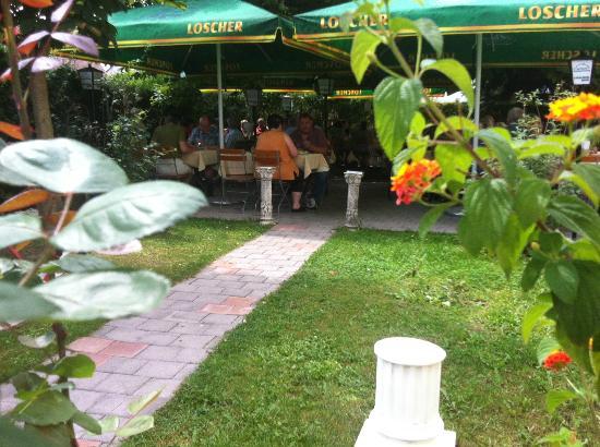 Gasthaus Freyung - Taverna bei Vassili: biergarden