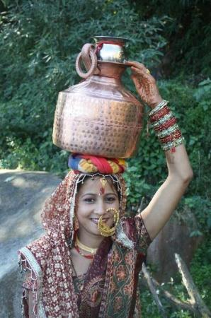 Pauri, India: Our culture (uttrakhandi Baand)