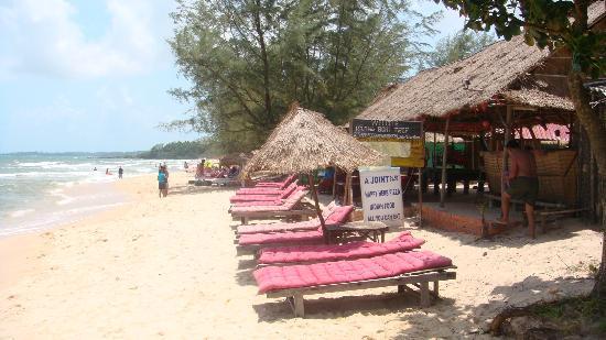 Otres Beach: happy molto happy