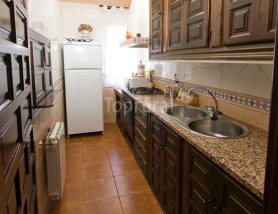 Casa Rural El Montaraz: Cocina