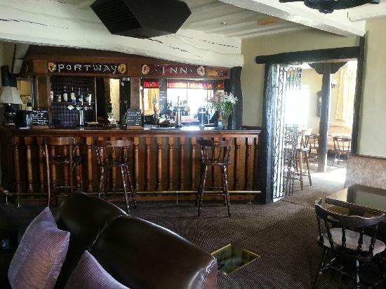 The Portway Inn: Bar Area