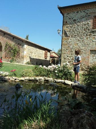 Agriturismo Belagaggio: laghetto con i pesci