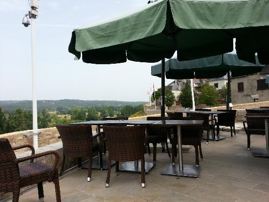 La Mandragore: Terrasse