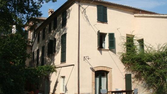 Villa Collepere : villa esterna