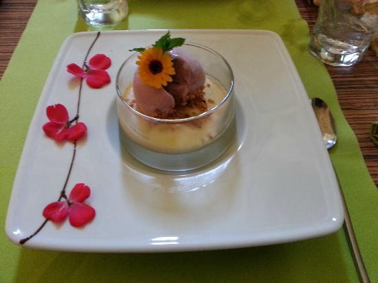 La Mandragore: Un dessert...