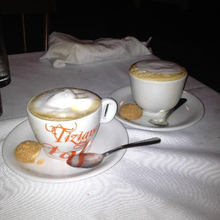 Osteria la Bottiglia: Cappuccino