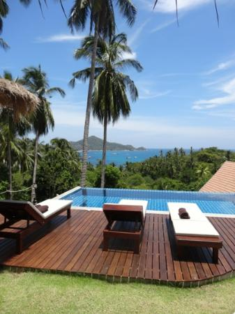 Koh Tao Heights Boutique Villas : what a view