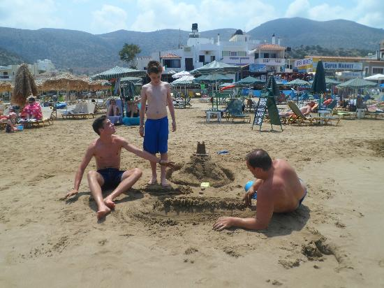 Stalis Beach : The foreman !