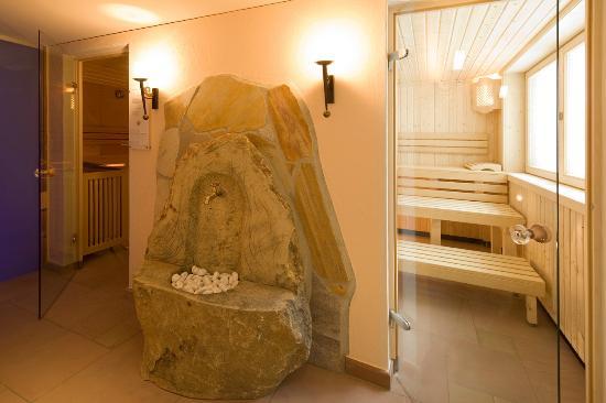 Hotel Bergland: Saunabereich   Copyright by AlpLine