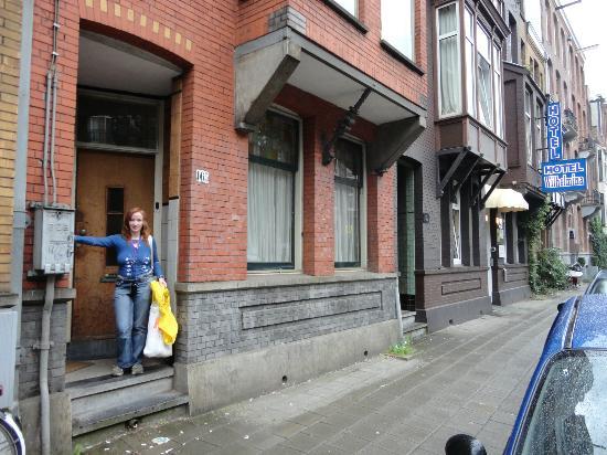 Hotel Wilhelmina: Персональный вход через основной вход