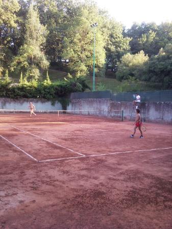 Hotel Michelangelo: campo tennis