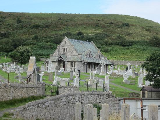 The Clontarf Hotel: Church on the Orme