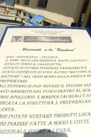 La Bucelina: storia