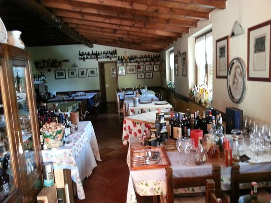 Almenno San Bartolomeo, Italie: Sala interna