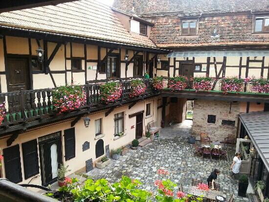 Hotel le gouverneur obernai france voir 113 avis et for Hotels obernai