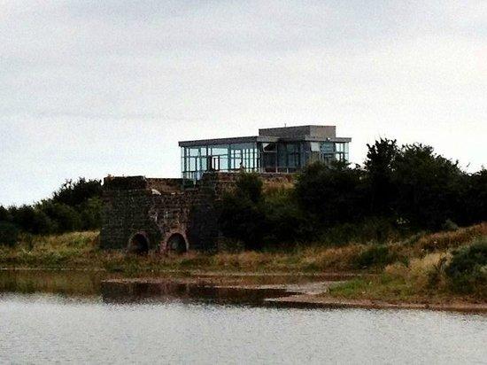 WWT Castle Espie Wetland Centre: Lime Kiln lookout