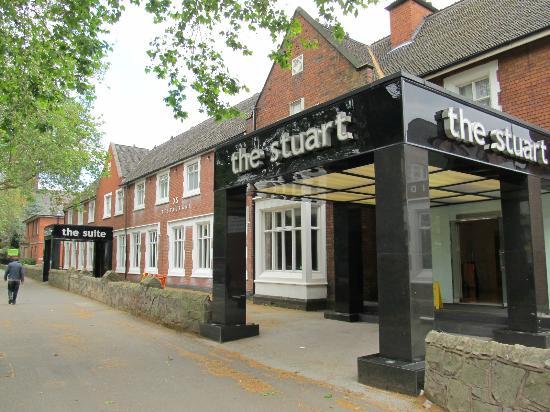 Best Western The Stuart Hotel Main Entrance