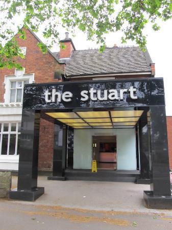 The Stuart Hotel Main Entrance Picture Of Best Western Derby Tripadvisor