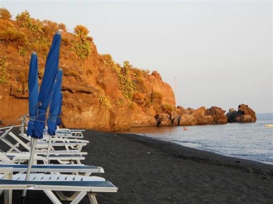 Spiaggia dell'Asino : spiaggia al tramonto