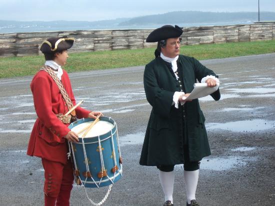 Nationale historische Stätte der Festung von Louisbourg: Town Crier