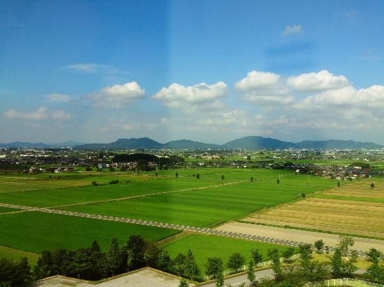 Crefeel Koto : 琵琶湖側の景色