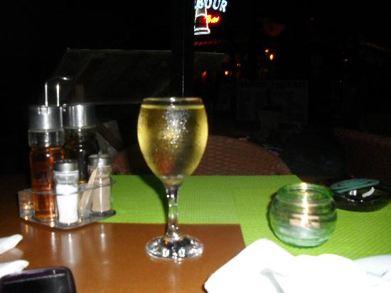 Taverna Opa: Watching the world go by