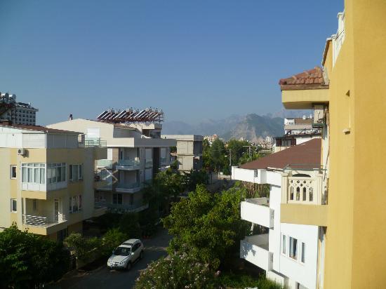 Hotel Benna: vue de la chambre