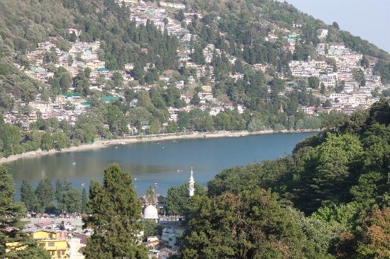 The Manu Maharani Hotel, Nainital: View from room