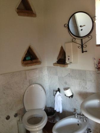 La Maestà: il bagno della nostra camera