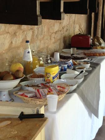 La Maestà: la prima colazione