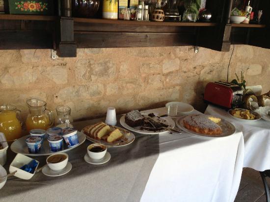 La Maesta: la prima colazione