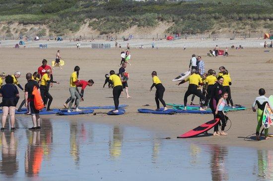 Quiksilver Surf School Newquay: Surfinstructie op Fistral Beach