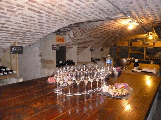 Hôtel de Paris : Cave Voutée