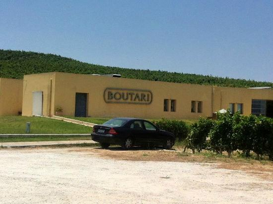 Boutari Winery: outside