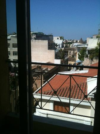Evripides Hotel: View from my room