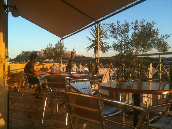 Evripides Hotel: Lovely roof terrace