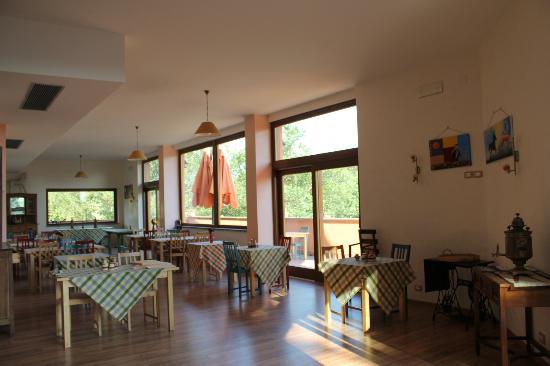Agriturismo Valle Capore: sala ristorante
